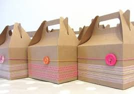 Decorative Packing Boxes Cardboard party boxes by Raphaele Project Papercraft 2