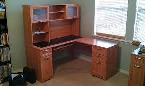 u shaped desk office depot. Office Depot Executive Desk Simple New U Shaped With Hutch Cherry Throughout Ideas L