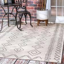 area rug serna indoor outdoor ivory 10 ft x 14 ft area rug