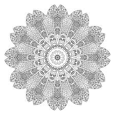 5 Free Printable Coloring Pages Mandala