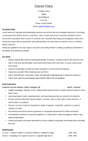 Customer Service Advisor Cv Example Hashtag Cv