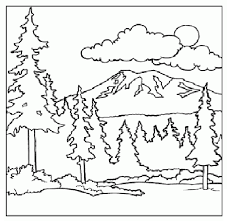 Small Picture Mountain Coloring Page children coloring pages Printable