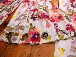 original 617a no sew grommet curtains add grommet step5 h