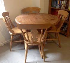 dining room chairs for sale gumtree. solid pine dining room table \u0026 4 matching chairs   london gumtree for sale n