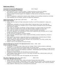 Self Employed Resume Samples Custom General Contractor Resume Great Sample Resumes General Contractor