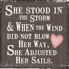 Spiritual Quotes About Life Changes Awesome Quotes About Life Changing She Stood In The Storm And The 55