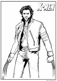 Small Picture x men wolverine coloring pages 03