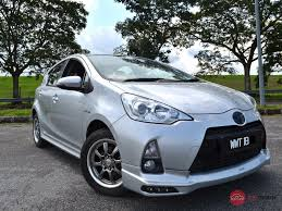 2012 Toyota Prius c for sale in Malaysia for RM45,800   MyMotor
