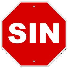 Image result for clipart sin