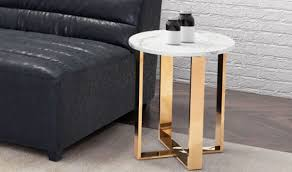 zuo atlas modern end table in stone gold lifestyle