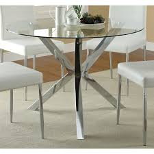 For Kitchen Tables Glass Kitchen Dining Tables Youll Love Wayfair