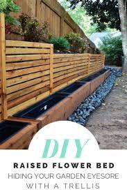 diy cedar planter boxes with trellis