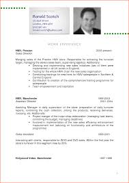 curricula vitae examples event planning template cv sample curriculum vitae ronald by miannaveed
