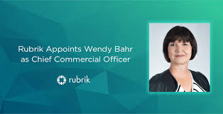 Rubrik Appoints Former Cisco Executive Wendy Bahr as Chief Commercial  Officer