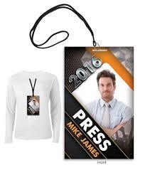 Pass Graphic Modern Work Badge Design Psd Templates Press Christian Design