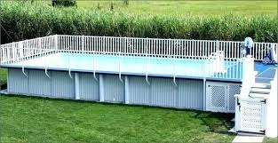 rectangular above ground pools.  Pools Small Rectangular Above Ground Pools Oblong Pool Oval Swimming  Rectangle Google Search  On G