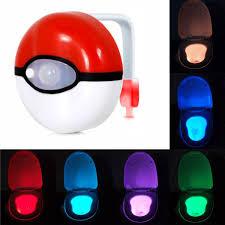 8 Kleurs Veilig Betrouwbare Body Motion Sensor Automatische Seat Wc Led Nachtlampje Lamp Voor Badkamer Toiletpot Deksel