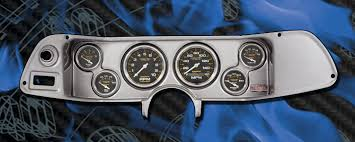 brushed aluminum panels fast lane west dash panels gauge 70 78 chevy camaro ba dash w carbon fiber gauges