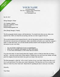job letter how to write a great cover letter 40 templates resume genius