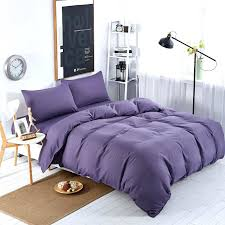purple duvet cover sets king xinlanisnow new bedding sets smoked purple solid blue striped bed sheet duver quilt cover pillowcase soft king queen bedclothes