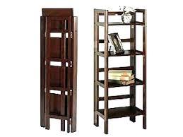 folding wooden bookshelves folding wooden