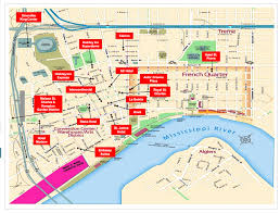 french quarter hotels map hotel top hotels in new orleans near