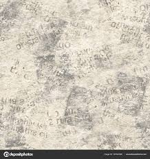 Newsprint Texture Background Old Grunge Newspaper Collage Seamless Pattern Unreadable