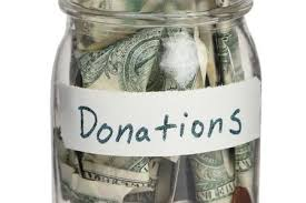 Image result for bag of money donations images