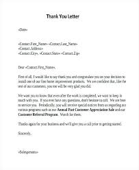 Sample Thank You Letter Client Customer Satisfaction Letters