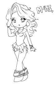 Anime Girl And Boy Coloring Pages
