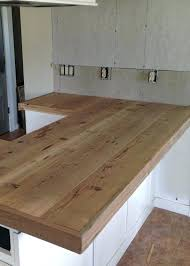 faux wood laminate countertops new reclaimed wood in home kitchen design with reclaimed wood
