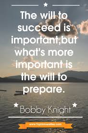bobby knight key to success quotes success bobby knight key to success