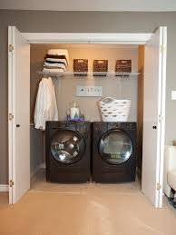 Washer Dryer Shelf Interior Design Exciting Laundry Room Design With Stackable
