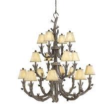 3 tier chandelier odeon crystal fringe chrome finish
