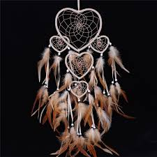 vintage dream catcher with feather car wall hanging ornament decoration hangcratft free pandacord