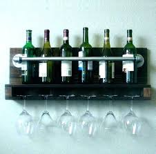 brass glass rack wine bottle and hanging holder hospitality wine bottle and glass rack wooden holder picnic wedding