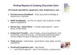 technical report writing chocolate cake k christian 8 writing reports cooking chocolate cake