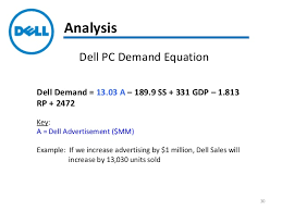 Dell Quote To Order Gorgeous Consumer Demand Analysis And Forecast For Dell