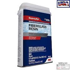 fiberglass resin all purpose repair kit bondo gallon hardener quart marine fixer