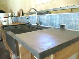 diy concrete countertops cost concrete how to make waterfall cost of phenomenal images phenomenal