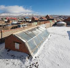 3 underground greenhouse in mongolia