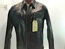 Bilt Jacket Size Chart Details About Nebraska Racer Jacket Simmons Bilt Leather Horsehide Waxy Black Sz 42 Motorcycle
