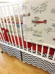 vintage baby bedding stylish boy bedding airplane bedding made to order 4 vintage airplane crib bedding