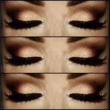 smokey eye black eye makeup glitter makeup makeup