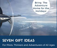 seven gift ideas for pilots thinkers and adventurers of all ages
