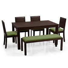dining table furniture. Brilliant Furniture Arabia  Oribi 6 Seater Dining Set With Bench Mahogany Finish Avocado With Table Furniture E