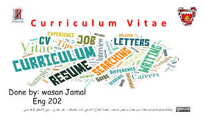 Full Form Of The Word Cv Curriculum Vitae Ppt Download