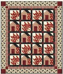 """Quilt Inspiration: Free Pattern Day: Canadian Flag & Maple Leaf, 12"""" block, free pattern at McCall's Quilting Adamdwight.com"""