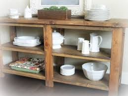rustic diy furniture. Rustic Buffet Table For Under My Window In The Kitchen Diy Furniture S