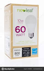 New Leaf Light Bulbs Led Light Bulb Stock Editorial Photo Homank76 187920906